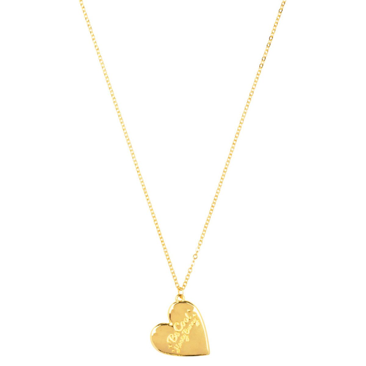 &anne necklace Be Cool Honey Bunny - 24k gold plated necklace