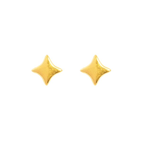 Studs &anne - 24k gold plated - sparkle
