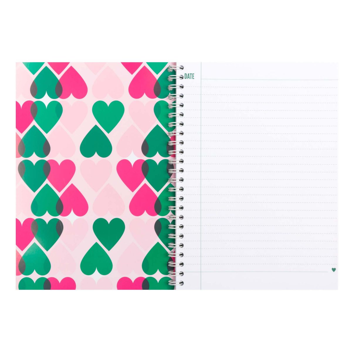 notebook heart - &anne stationery