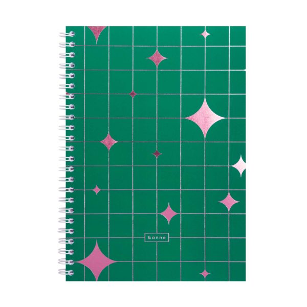 notebook sparkle - &anne