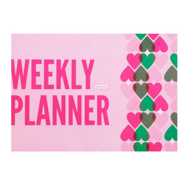 &anne - most popular weekly planner