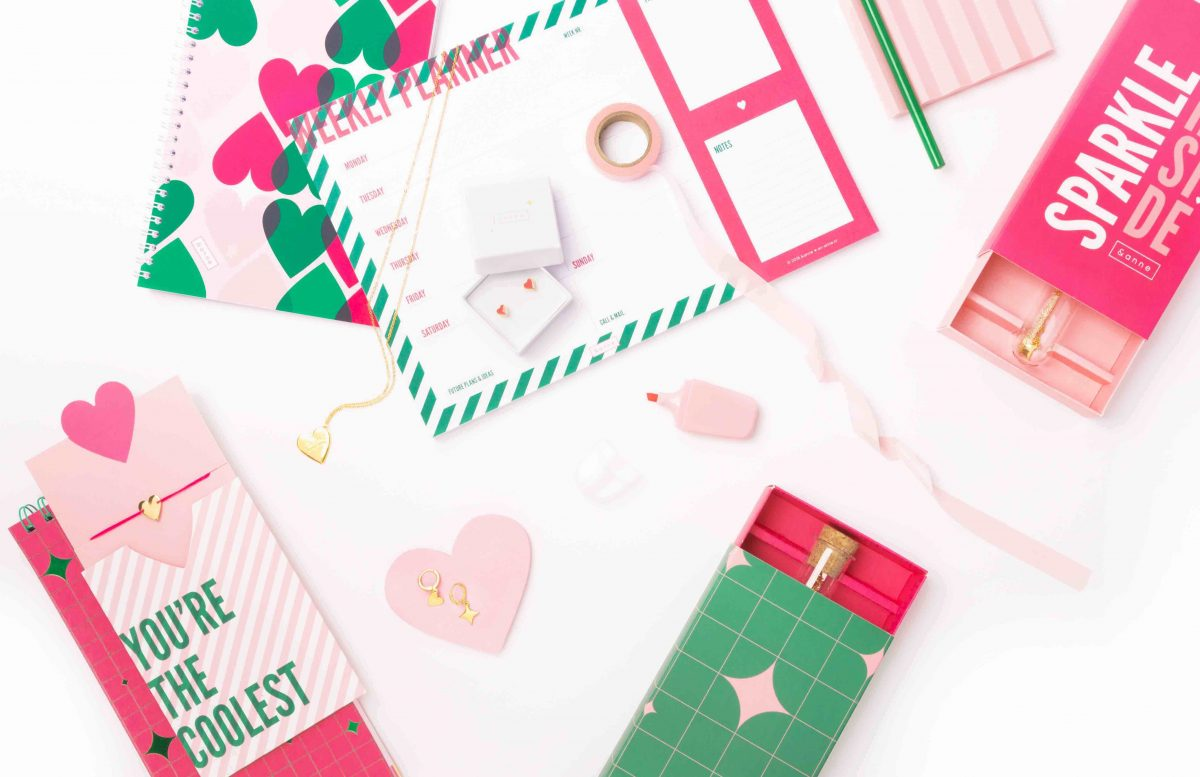 &anne stationery, lifestyle and jewelry collection